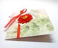 Papiernictvo - Pohľadnica ... kúsok kvetu II - 13267056_