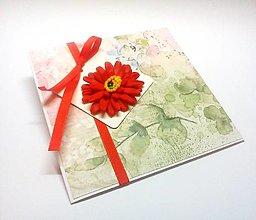 Papiernictvo - Pohľadnica ... kúsok kvetu II - 13267054_