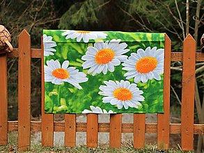 Úžitkový textil - Utierka margarétky - 13266926_