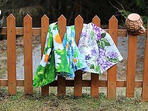 Úžitkový textil - Set troch jarných utierok - 13266939_