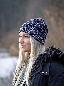 Čiapky - Milujeme Slovensko (čierne) antibakteriálna čiapka, nákrčník alebo set - 13267091_