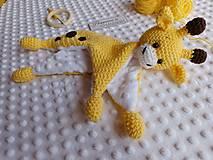 Hračky - Mojkáčik žirafka - 13264107_