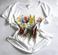 Tričká - Kvitnúce kvietky (40) - 13264465_