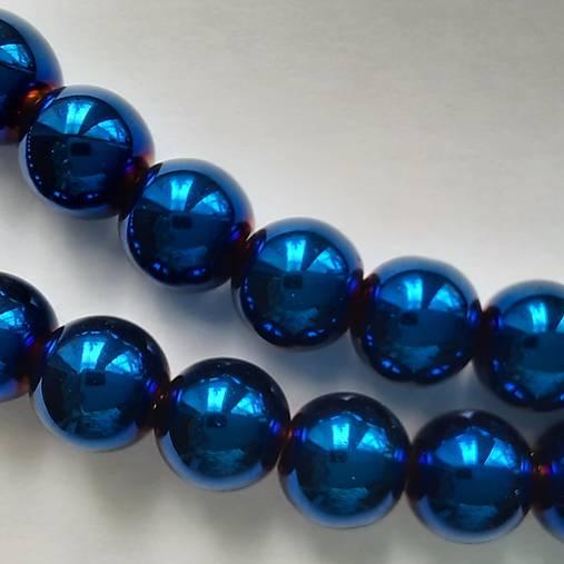 Sklenené korálky Bubble Beads AB™