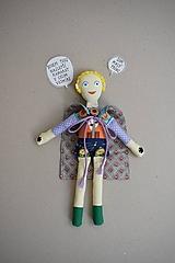 Hračky - Malý princ - Gombíková bábika - 13266747_