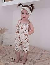 Detské oblečenie - Rastúci overal - 13264983_