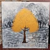 Obrazy - Zlatý strom - 13264482_
