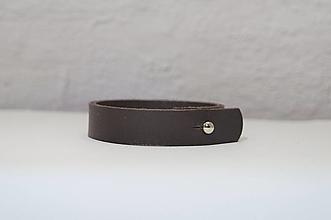 Šperky - Pánsky kožený náramok - 13265566_
