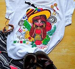 Tričká - Viva Mexico - 13265957_