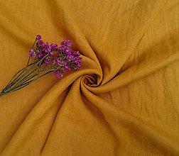 Textil - 100% mäkčený ľan 185g (ako materiál alebo šitie na želanie) - 13264651_