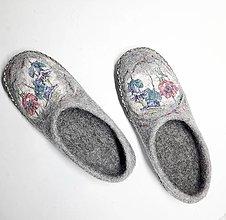 Obuv - Plstené papuče - 13264010_