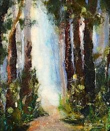 """Obrazy - Arttexový obraz """"Svetlo lesa"""" - 13271186_"""
