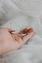 Náramky - Srdiečkový rodinný náramok oceľ - 13269630_