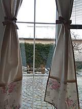 Úžitkový textil - Závesy v prírodnom - 13269848_