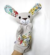 Hračky - Maňuška zajac - Zajačik od Svetlej lúky - 13267509_
