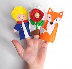 Hračky - Bábky na prsty: Malý princ - 13269066_
