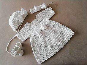 Detské oblečenie - Supravyčka na krst - 13269509_