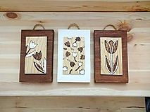 Obrázky - Sada obrázkov s motívom tulipánov - 13271146_