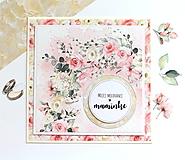 Papiernictvo - pohľadnica pre mamu - 13269351_