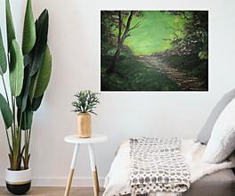 Obrazy - Obraz Východ slnka -akryl na plátne 70 X50 cm - 13269123_