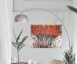 Obrazy - Obraz Červená kytica kvetov - 13269155_