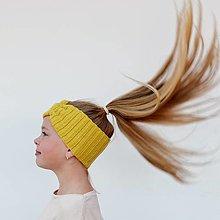 Ozdoby do vlasov - KAMARÁTSKA* merino extra čelenka (42 farieb) - 13270927_