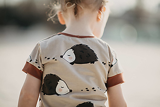 Detské oblečenie - Ježko tričko - 13268637_