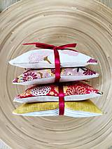 Úžitkový textil - Levanduľové vrecúška, 2ks - 13270941_