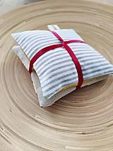 Úžitkový textil - Levanduľové vrecúška, 2ks - 13270943_