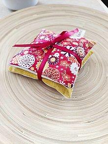 Úžitkový textil - Levanduľové vrecúška, 2ks - 13270942_