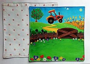 Úžitkový textil - Hravé prestieranie - 13269946_