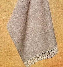 Úžitkový textil - Utierka 100% ľan - 13268581_
