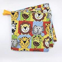 Úžitkový textil - Kuchynské handričky prateľné - sada 8ks - 13271120_