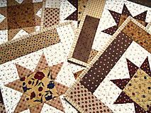 Úžitkový textil - Chocolate Caramel... prestieranie - 13274795_