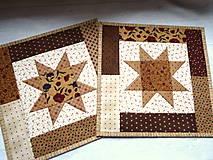 Úžitkový textil - Chocolate Caramel... prestieranie - 13274796_