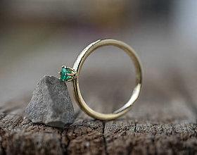 Prstene - Malý pán smaragd - 13271251_