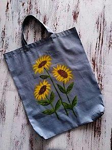 Nákupné tašky - Slnečnice... nákupná taška - 13274540_