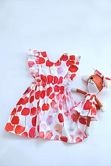 Detské oblečenie - Rozkvitnuté záhrady na šatôčkach - 13274958_