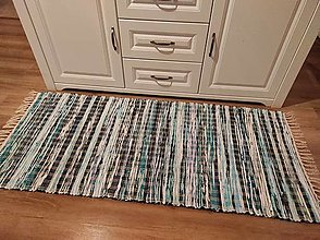 Úžitkový textil - tkaný koberec 70 x 150cm - 13271541_