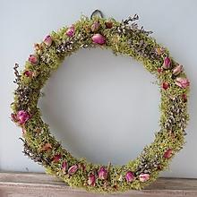"""Dekorácie - Kvetinový veniec """"Provence"""" - 13274308_"""