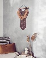 Dekorácie - Makramé závesná dekorácia WILDFIRE - 13274780_