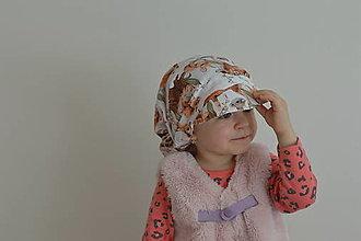 Detské čiapky - Detská letná šiltovka - 13272901_