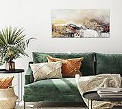 Obrazy - Kúzelný deň, 80x40, abstraktný obraz, abstraktné obrazy - 13272252_