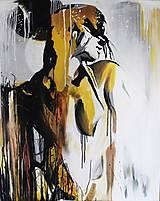 Obrazy - Abstrakt ženy II. - 13274814_