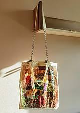 Nákupné tašky - Decoupage látková taška - 13274979_