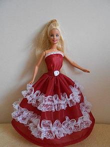 Hračky - Šaty pre barbie - 13274431_