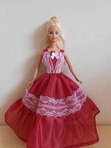 Hračky - Šaty pre barbie - 13274452_