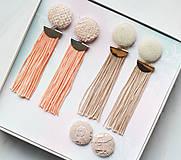 Sady šperkov - Sada buttonkových upcyklovaných náušníc - 13278739_