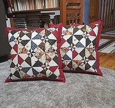 Úžitkový textil - Pestrý vankúš - 13280282_