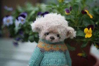 Hračky - Mini medvedik Adamko - 13276621_